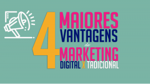 Read more about the article As 4 maiores vantagens do Marketing Digital X Tradicional